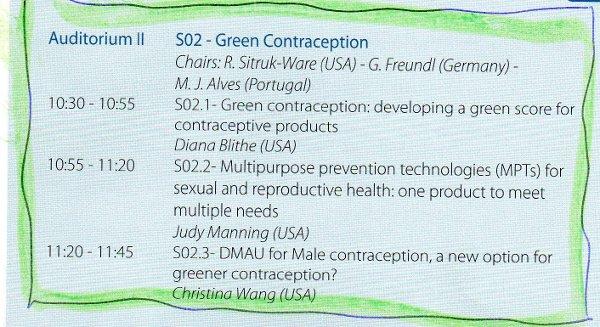 fertility awareness congress 2014 - green contraception