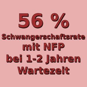 NFP Schwangerschaftsrate nach ein bis zwei Jahren Wartezeit